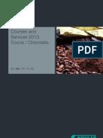 Brochure Courses Services 2013 Cocoa Chocolate 2013 En