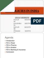 FDI Poilicy in India (1)