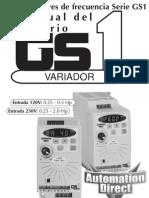 Manual Del Variador Electronico.