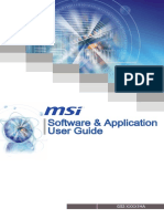 Software Application Guide v1.5 (G52-XXXX1HA)