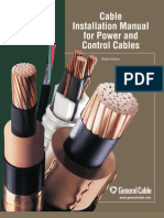 Cable Installation Manual for Power and Control Cable