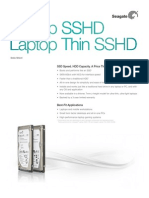 Seagate Solid State Hybrid Thin Drives
