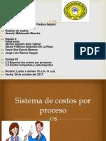 Costo de Coproductos y Subconjuntos