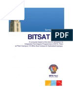 Bits at 2012 Broucher for undergraduate programmes