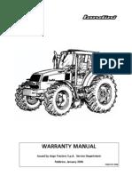 Manual de Garantia Manuale Landini Inglese