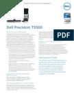 Dell Precision T5500 SpecSheet