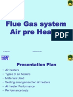 Air Preheat Flue Gas System