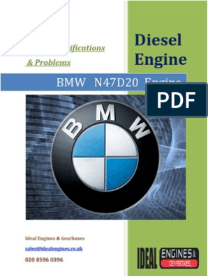 BMW N47D20 ENGINE   Bmw   Engines
