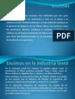 Enzimas en La Industria Textil Avance