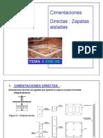 Cimentaciones Directas-Zapatas Aisladas (Una a Una)