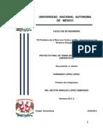 Proyecto Final 2013-2 Temas Selectos de Sistemas Energeticos