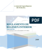 PROYECTO DE REGLAMENTO INTERNO Centro Comercial BUTURAMA AGUACHICA
