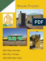 Folder Clay House DIN A4-Klein