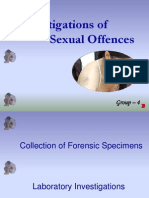 investigations of sexual offences