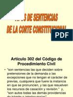 3-Tipos de Sentencias de La Corte Constitucional