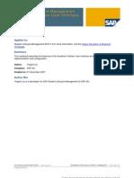 Student Lifecycle Management Academic Advisor User Interface Cookbook