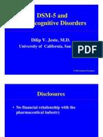 dsm5 neurocognitivedisorders jeste