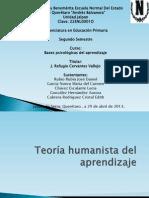 Teoría humanista del aprendizaje