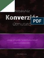 Webáruhaz Konverziós Útmutató