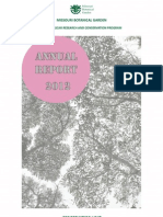 Madagascar Research and Conservation Programme  - Annual Report 2012