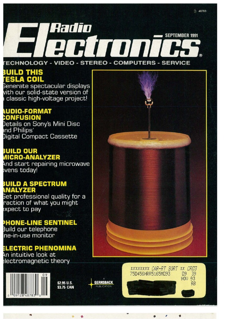 Re 1991 09 Electromagnetism Electronics Free Electronic Circuits 8085 Projects Blog Archive Hall Sensor