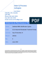 GE Water and Process Tech OMManual