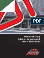 Catálogo de Puntos de carga y sistemas de seguridad 2013 de Angel Mir