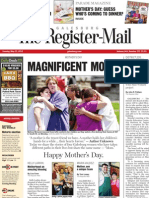 Mother's Day 2013 front page layout