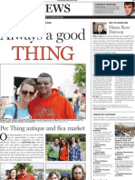 'Your News' features page layout