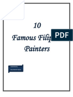 Famous Filipino Painters