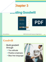 Chapter 3 Building Goodwill