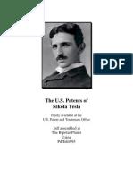Complete Patents Nikola Tesla