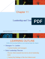 Chapter 11 Leader & Trust