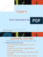 Chapter 5 Organization Design