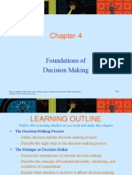 Chapter 4 DECISION MAKING