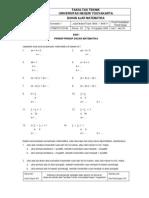 Diktat Matematika