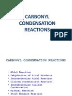 CARBONYL CONDENSATION REACTIONS 2 (10 Mei 2013).ppt