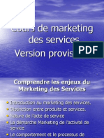 Cours Marketing Servicves Bem 2013