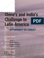 China's and India's Challenge to Latin America