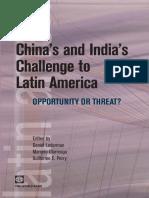 China's and India's Challenge to Latin America