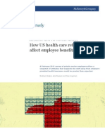 How US Health Care Reform Will Affect Employee Benefits
