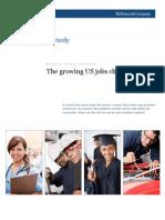 The Growing US Jobs Challenge
