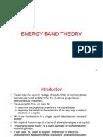 3- Energy Band Theory