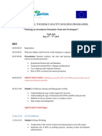 Training on Investment Promotion Tools and Techniques (Tentative Program.pdf)