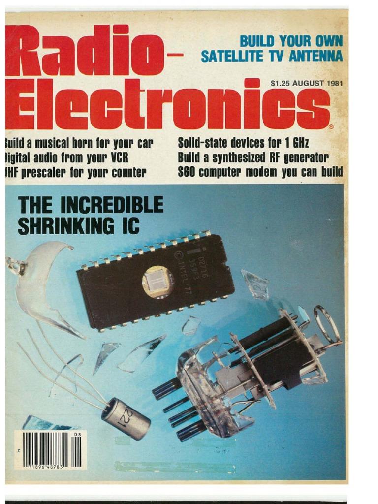 Re 1981 08 Vu Meter Circuits Lm3914 Lm3915 Pcb Vumeter Metre