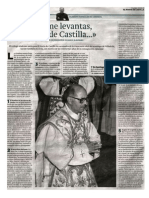 ¡Tú me levantas, Tierra de Castilla! Itinerario de Monseñor Ricardo Blázquez