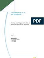CE Delft - Energiebesparing via de Wet Milieubeheer