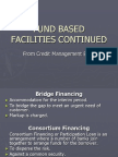 Fund Based & non Fund Based Facilities & LC