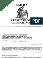 D--historia y espistemología de las ciencias