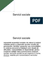 Servicii Sociale